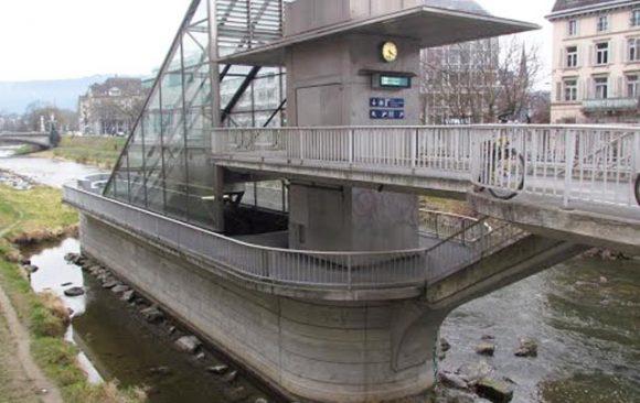 Bahnhof Selnau, Nordausgang